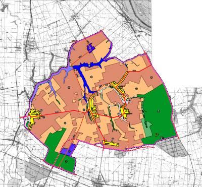 Prostorni plan uređenja Općine Tompojevci - 0 Pregledna karta Izmjene i dopune